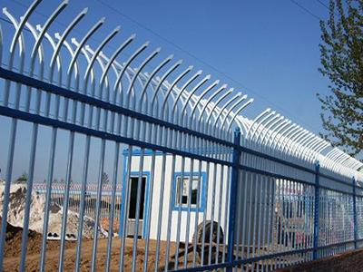 弯弧式锌钢护栏
