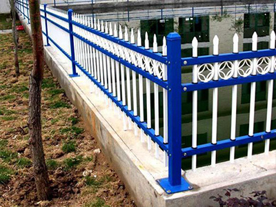 三横杆带花边护栏