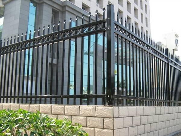 厂区护栏网 锌钢护栏